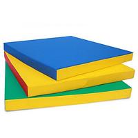 Спортивный гимнастический мат  100х100х8 см, фото 1