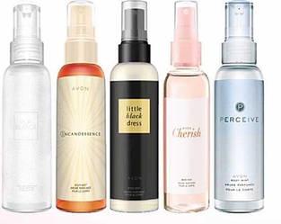 Спреи парфюмированные
