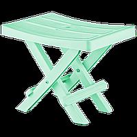 Табурет складаний 35x25x28 см зелений Irak Plastik