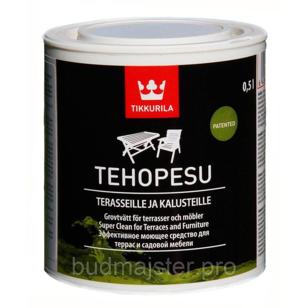 Засіб Tikkurila Техопесу, ефективний миючий засіб 0,5 л
