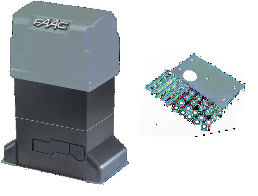 Электромеханический привод FAAC 844 R 3PH для створки весом до 2200 кг Z12