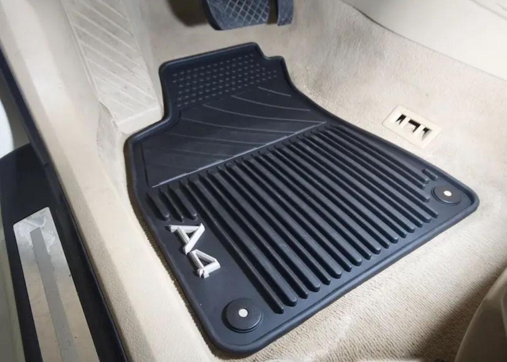 Коврики в салон Audi A4 (B6/B7) 2001-2008 резиновые передние 2шт 8E1061501A041