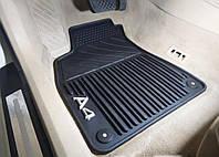 Коврики в салон Audi A4 (B6/B7) 2001-2008 резиновые передние 2шт 8E1061501A041, фото 1