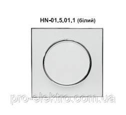 Выключатель одинарный внутренний белый RIGHT HAUSEN LAURA HN-015011