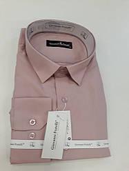 Мужская рубашка Giovanni Fratelli 0408 CR светло- розовая