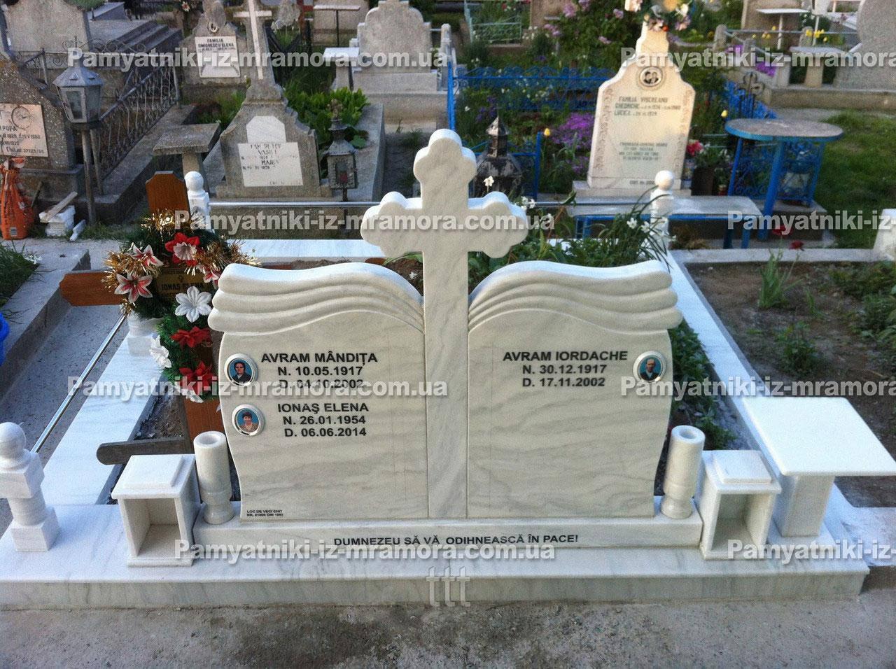 Надгробие из мрамора   №12