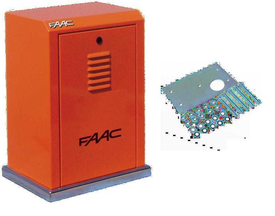 Электромеханический привод FAAC 884 MC 3PH для створки весом до 3500 кг