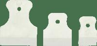 Набор шпателей резиновых 3шт, (40, 60, 80мм) Украина