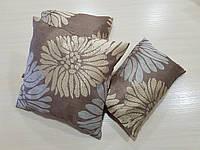 Комплект подушек бежевые Пионы  3шт , фото 1