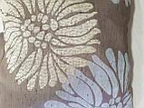 Комплект подушек бежевые Пионы  3шт , фото 3