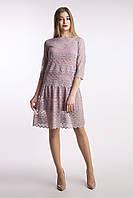 Платье Татьянка лиловое, фото 1