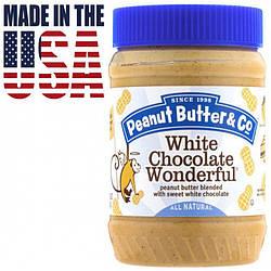 Арахисовая паста с белым шоколадом Peanut Butter & Co. White Chocolate Wonderful 462 грамм. США