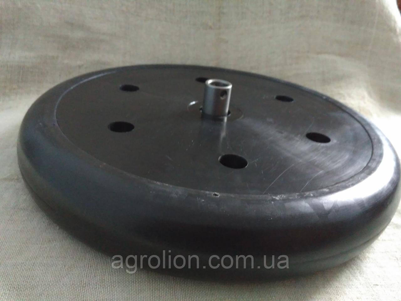 """Прикотуюче колесо в зборі ( диск поліамід) 2"""" x 13"""" F06120075 Gaspardo."""