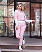 Прогулочный женский костюм с кофтой на молнии, фото 4