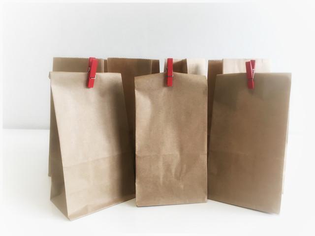 Пакеты бумажные с дном