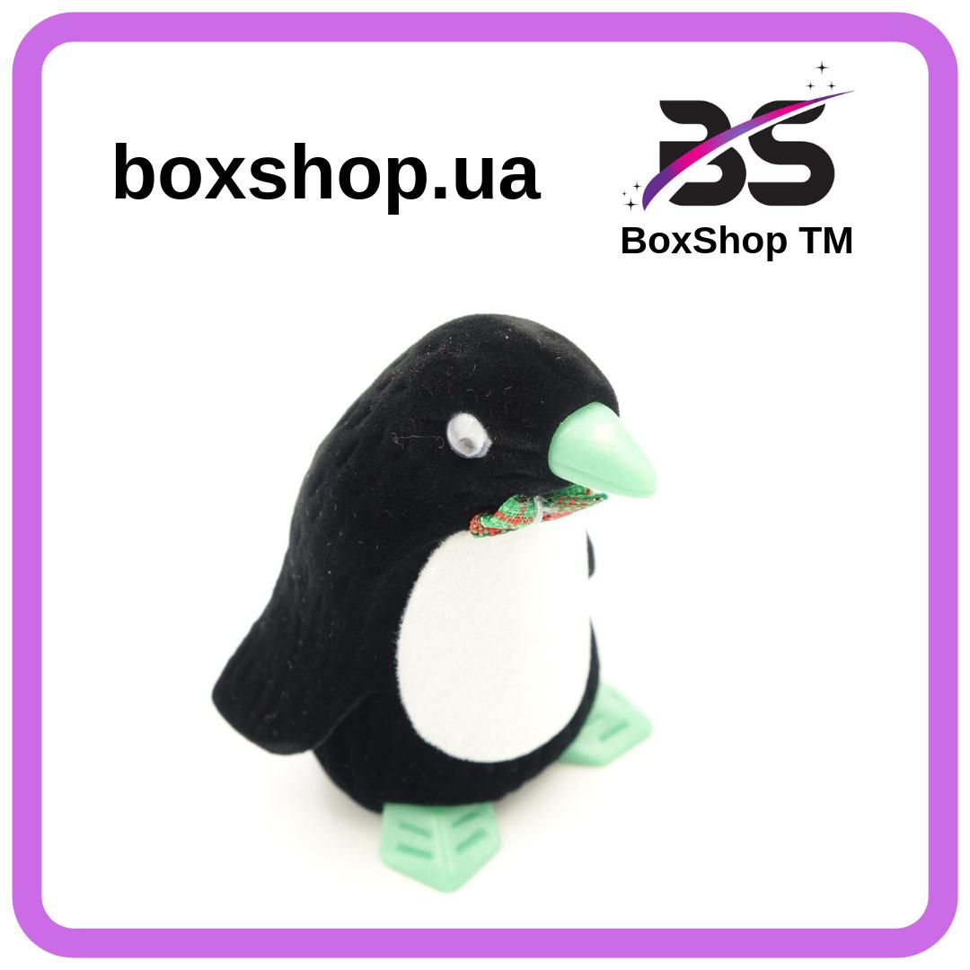 Футляр для кольца Пингвин черный