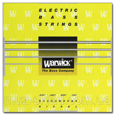 Струны для бас-гитары WARWICK 41210 YELLOW LABEL ML4
