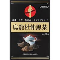 ORIHIRO Чёрный чай Дю Чжун Черный чай Orihiro Owlong Du Jun 30 пак по 5 гр