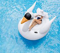 Intex 56287 надувной плот Лебедь