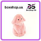 Футляр для кольца Собака розовая, фото 3