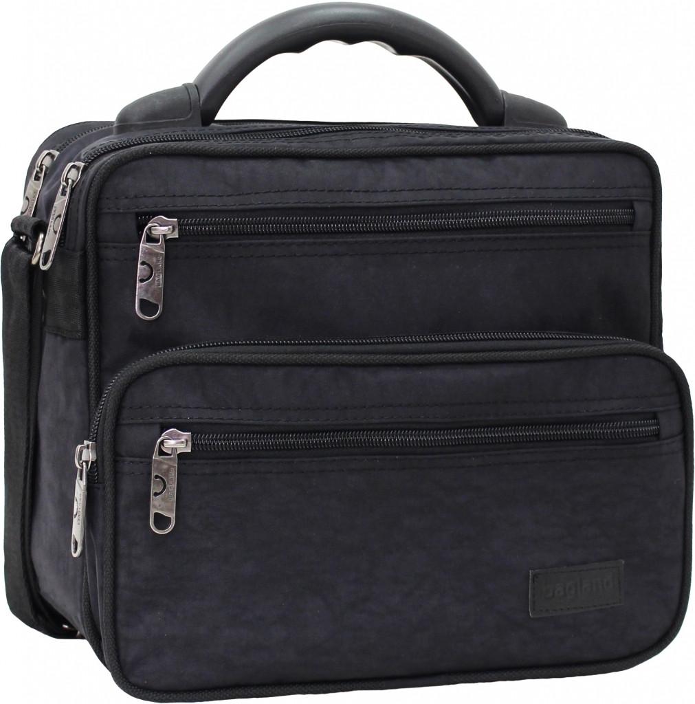876a0c3fd3d1 Мужская сумка Bagland Mr.Braun 8 л. Чёрный (0024070), цена 291 грн ...