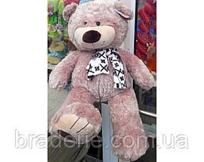 Медведь (шкура не набитая) с бантом 60 см 6-3002-60