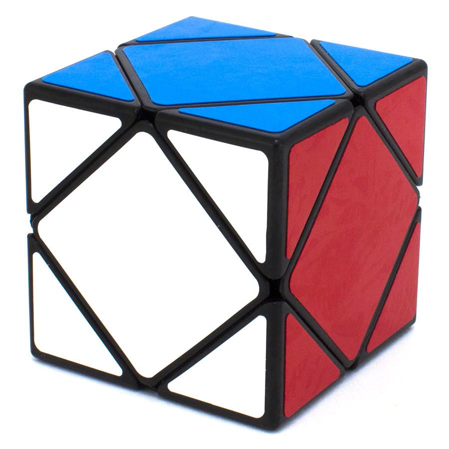 Кубик головоломка ShengShou Skewb (ШенгШоу Скьюб) Чорний пластик