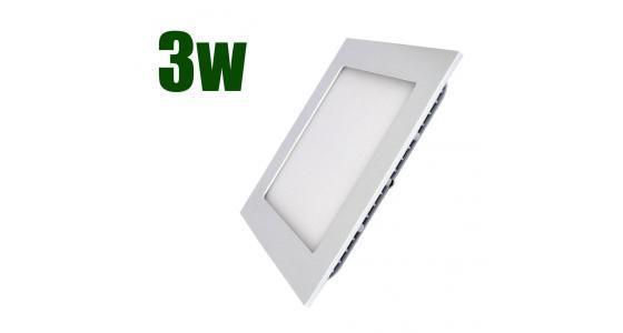 LED св-к LEDEX встр.кв. 3W-240lm-4000К-85x85x13mm (LX-102209)