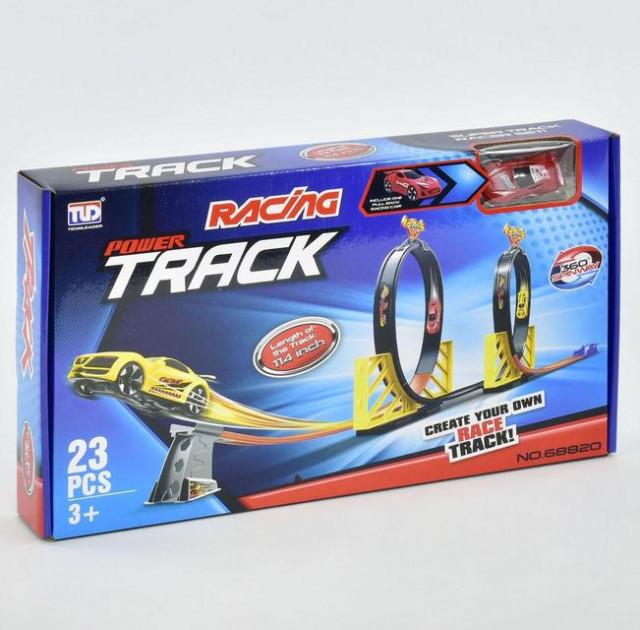Автотрек детский «racing power track»  Megatoys 68826