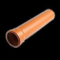 Труба 110/4000 мм (2.5) зовнішня руда монолітна Форт-пласт