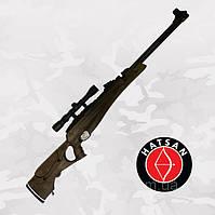 Hatsan Proxima Vortex, пневматическая винтовка с подствольным рычагом и газовой пружиной + ПО Optima 3-9x32