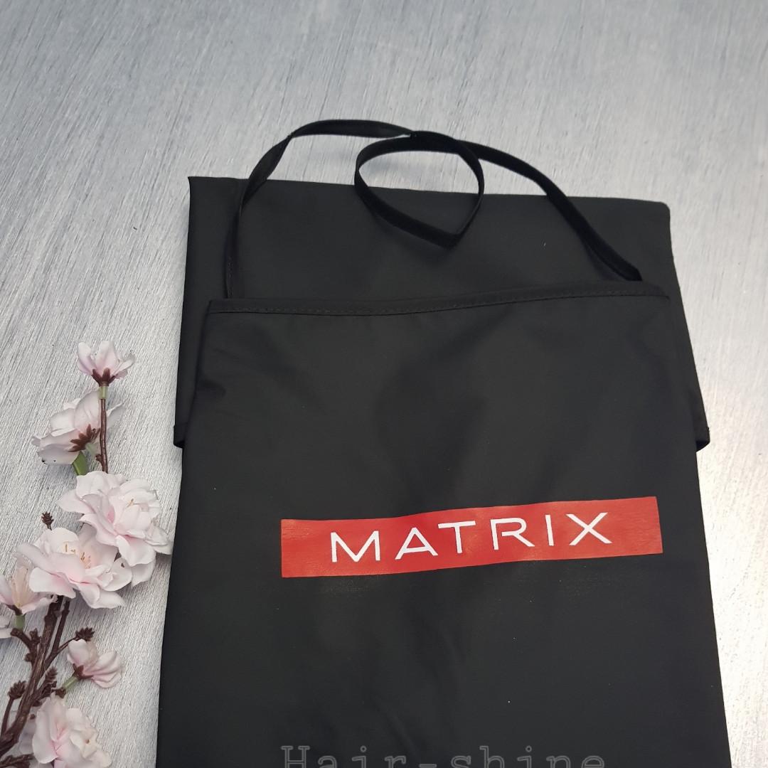 """Профессиональный фартук """"Черный с карманом"""" Matrix"""