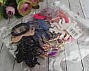 """Детские резиночки для волос Единороги в блестках """"битое стекло"""" 12 шт/уп, фото 4"""