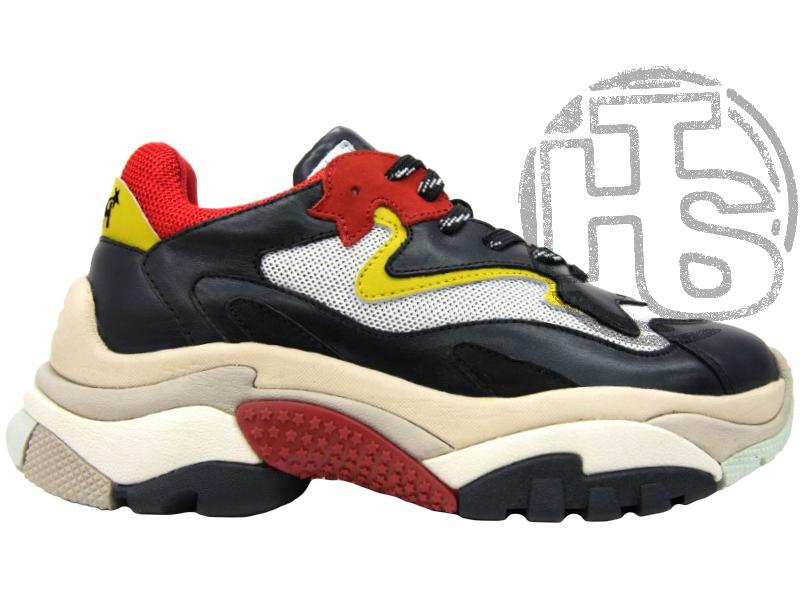 Женские кроссовки Ash Addict Sneakers Black/Red FW18-S-126379-005
