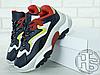Женские кроссовки Ash Addict Sneakers Black/Red FW18-S-126379-005, фото 3