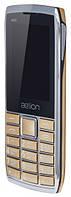 Кнопочный телефон AELion A600 Metal/Gold Гарантия 12 месяцев