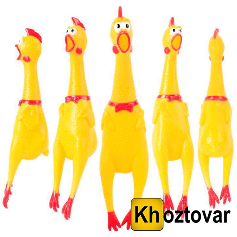 """Игрушка - антистресс """"Кричащая курица"""" (В наборе 6 шт.)"""
