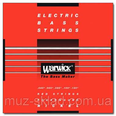 Струны для бас-гитары WARWICK 46300 NICKEL ELECTRIC BASS ML5B 40-130