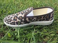 Мокасины детские 28-32 Литма леопард