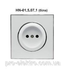 Розетка RIGHT HAUSEN LAURA 1-а внутрішня біла HN-015071