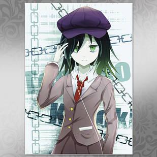 Плакат Аниме WataMote 01