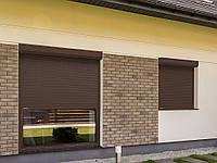 Рольставни DoorHan витринные из пенозаполненного профиля перфорированного RH58PN, фото 1