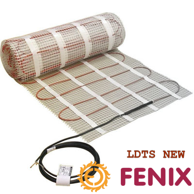 Нагревательные мат Fenix LDTS M (Чехия) - 2,5 кв.м Теплый электрический пол