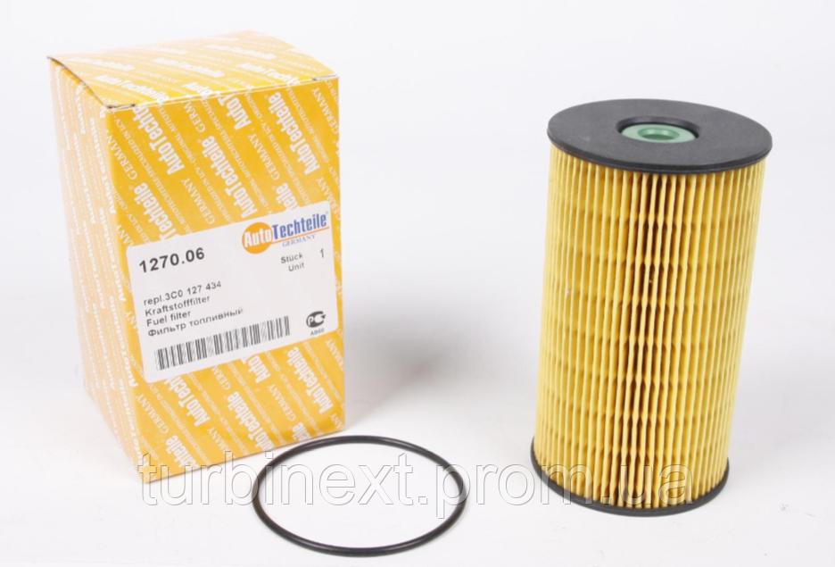 Фильтр топливный VW Caddy 2.0SDI (6 болтов) AUTOTECHTEILE 1270.06