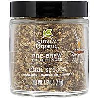 """Специи для заваривания кофе """"чай масала"""" Simply Organic, 48 г"""