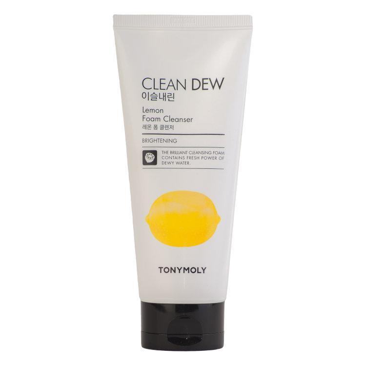 Пенка для лица с экстрактом лимона Tony Moly Clean Dew Lemon Foam Cleanser