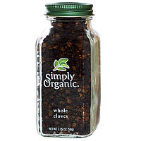 Целая гвоздика Simply Organic, 58 г