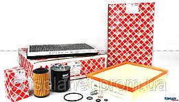 Комплект фильтров (фильтр салона, воздушный, топливный, масляный)