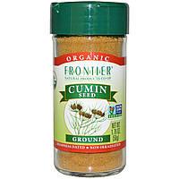Зира Frontier Natural Products, органические семена (тмин) молотые, 50 г