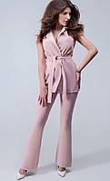 Женский стильный костюм: жилет и брюки (в расцветках)